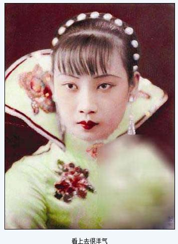 江青年轻时照片 解密其功过一生
